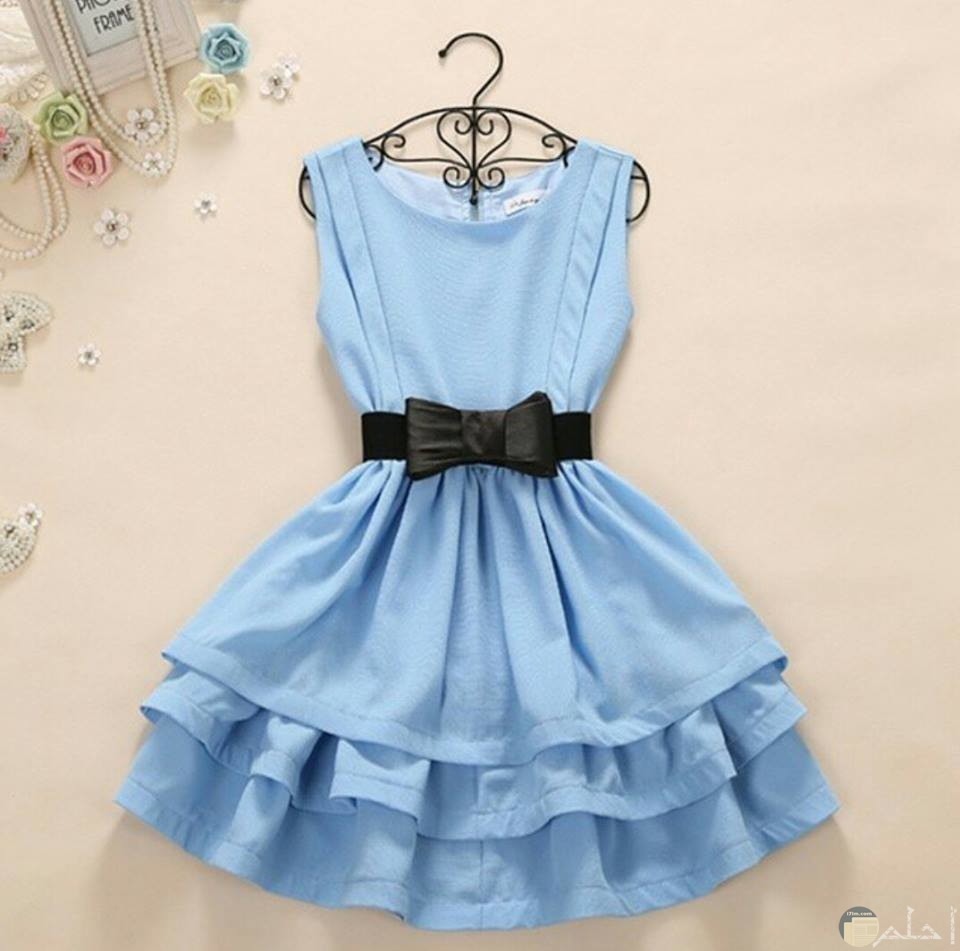 صورة لفستان لبنى جميل