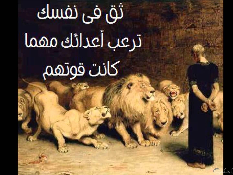 الثقة في النفس ترعب الأعداء.