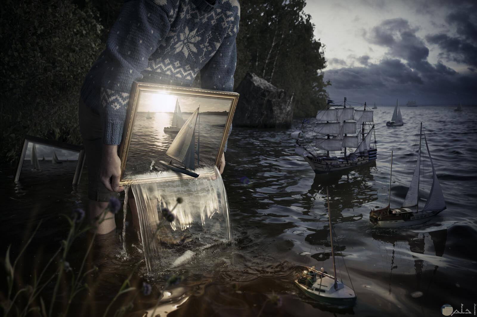 دمج الطبيعة مع الخيال، أحلى خلفيات خيالية.