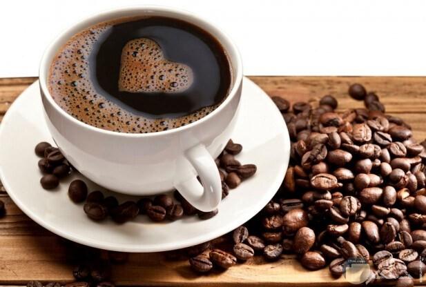 صورة قهوة مع البن