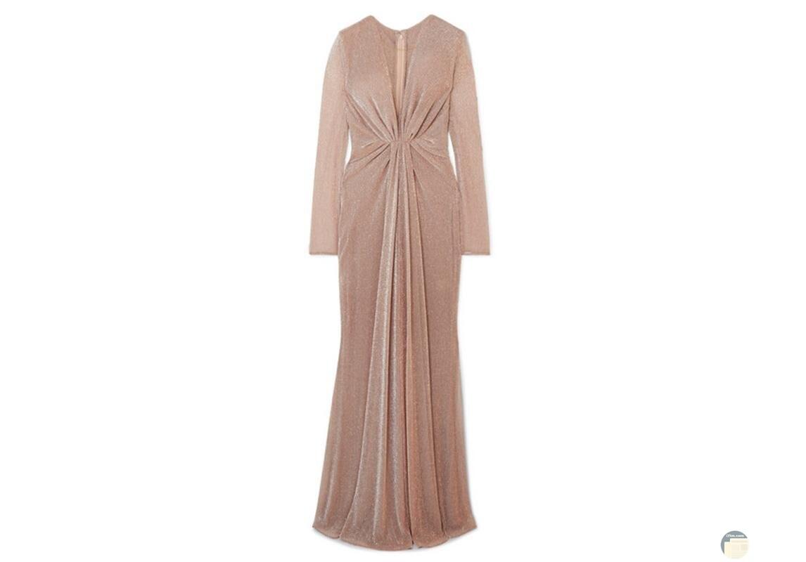 تصميم جميل لفستان سهرة