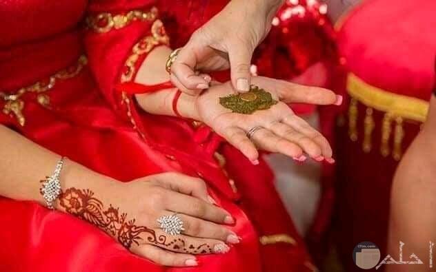 صورة حنة عروس باكستانية