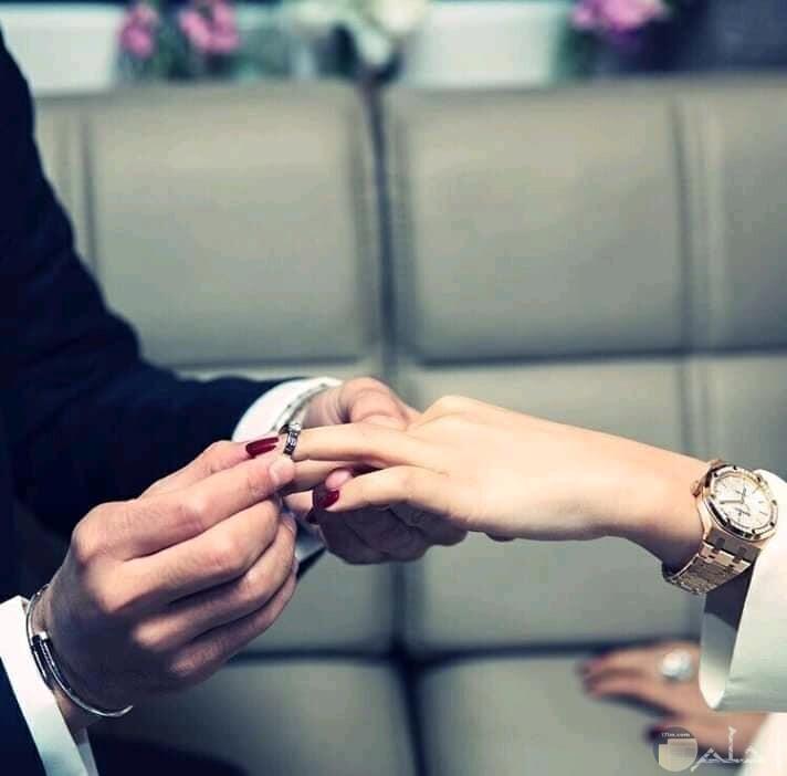 صورة دبل الزواج جميلة