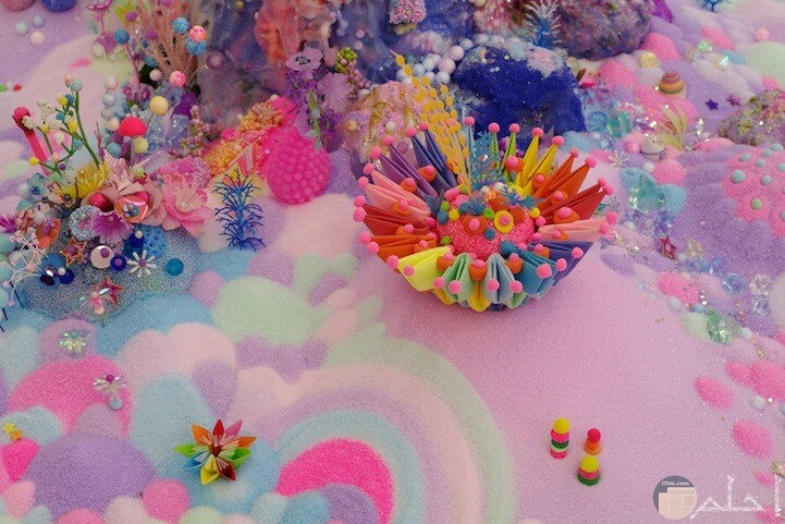 صور خيالية من الشعب المرجانية بالالوان